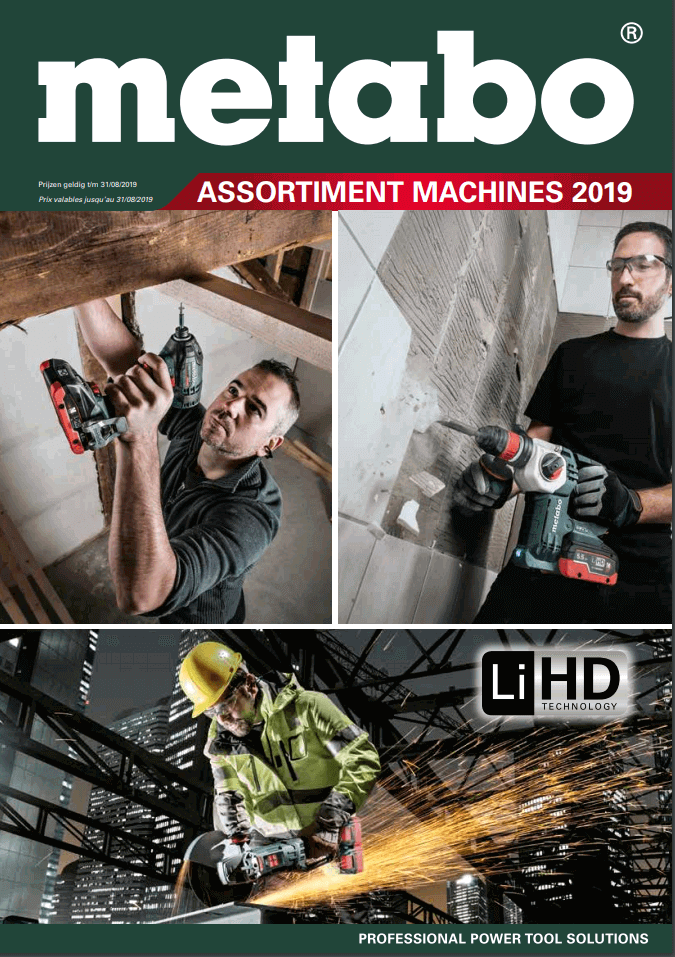 Metabo assortiment 2019